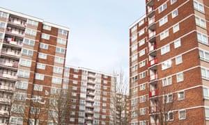 High-rise blocks in Liverpool