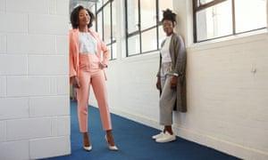 Rachel Corson and Joycelyn Mate, founders of Afrocenchix