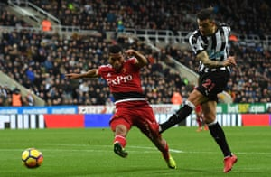 Newcastle striker Joselu has lost his touch in front of goal.
