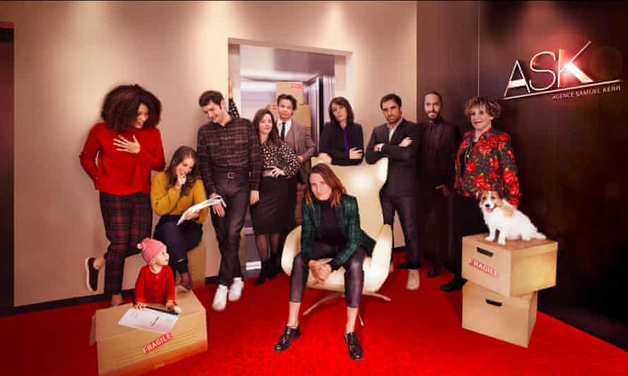 The team at talent agency ASK in the fourth series of Call My Agent.