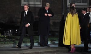 Macron, Trump and Melania auditioning for Watchmen.
