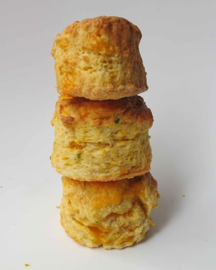 Felicity Cloake's perfect cheese scones.