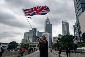 HK protester