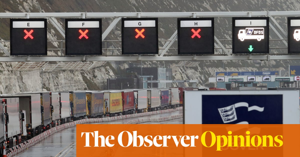 It's not Covid that's damaging British trade. It's Brexit