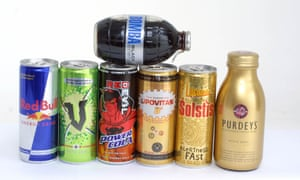 In both 2015 and 2017, the average sugar content of the energy drinks was more than the entire recommended daily maximum for an adult in the UK.