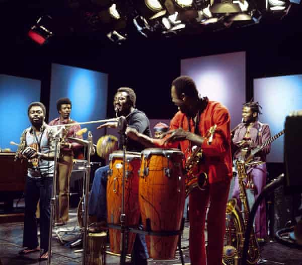 International audience … Osibisa performing for the BBC.