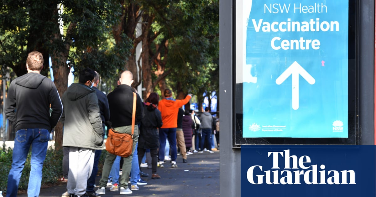 Fewer than 8% of Australian adults fully vaccinated four months into rollout