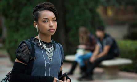 Logan Browning as Samantha White, the smart-arse student activist who runs her own college radio station