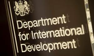 Sign for Department for International Development