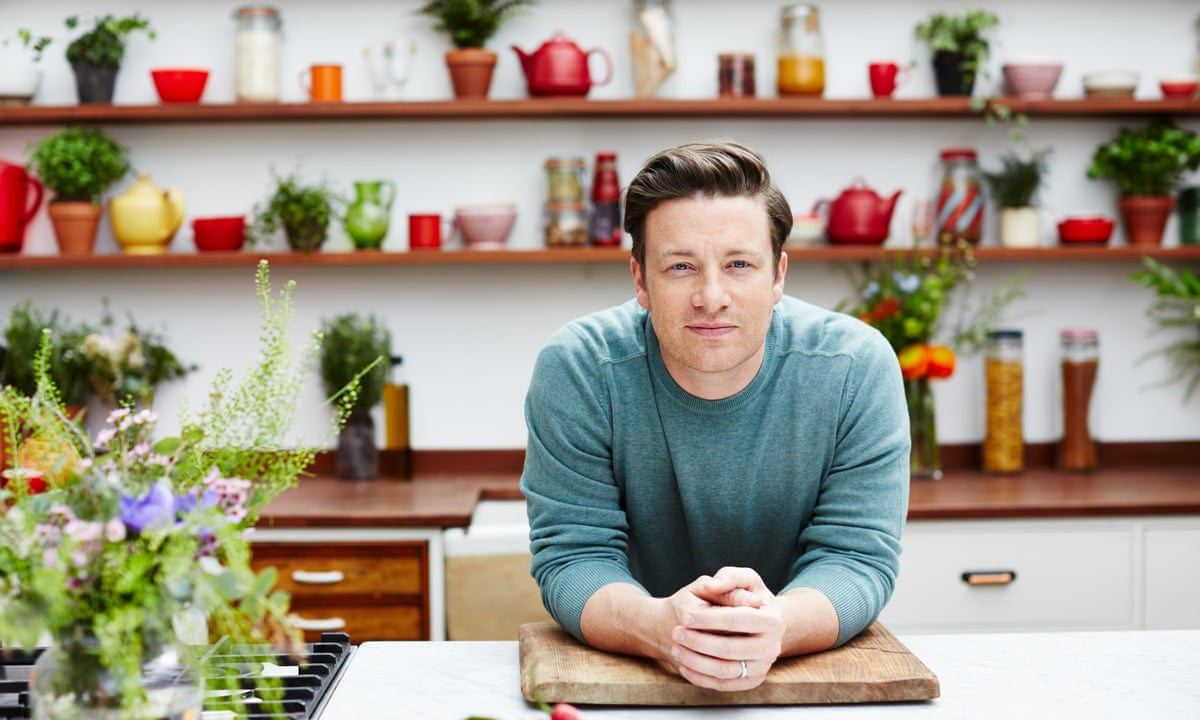 Jamie Oliver On Fame Failure And Fighting Obesity I M Actually Quite Shy I Don T Like A Ruck Jamie Oliver The Guardian
