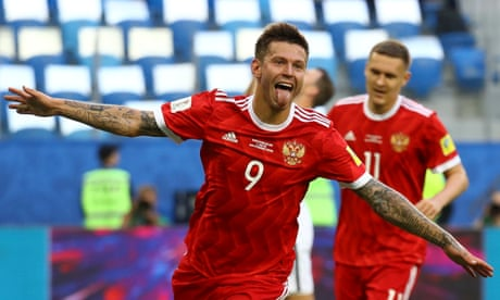Smolov launches Confederations Cup mission to spark Russia World Cup fever