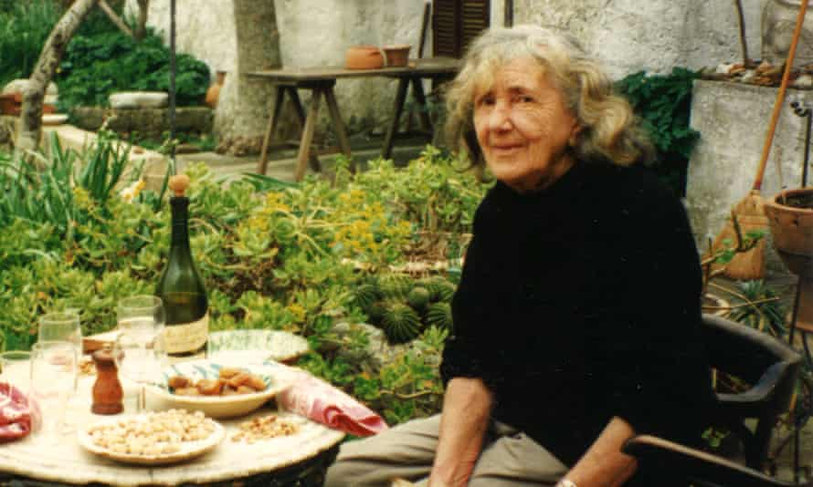 Patience Gray at her farm in Apulia.