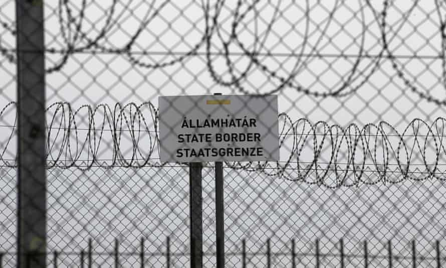 Hungary's border with Serbia near the village Asotthalom, Hungary. The UN's refugee body is calling for states to investigate and halt increasing violence at land and sea borders.