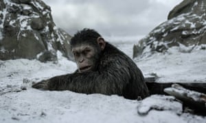 Andy Serkis's Caesar in War for Planet of the Apes.