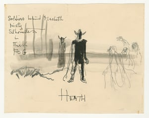 Macbeth's first encounter with the witches by Orson Welles