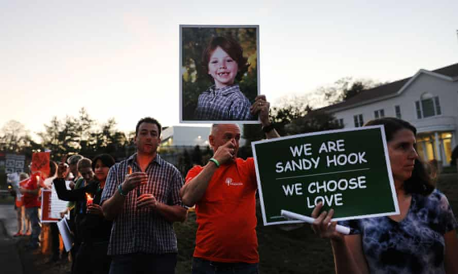In Newtown, an 20-year-old local man obsessed with mass shootings had burst into an elementary school with an AR-15-style rifle and murdered 20 young children and six educators.