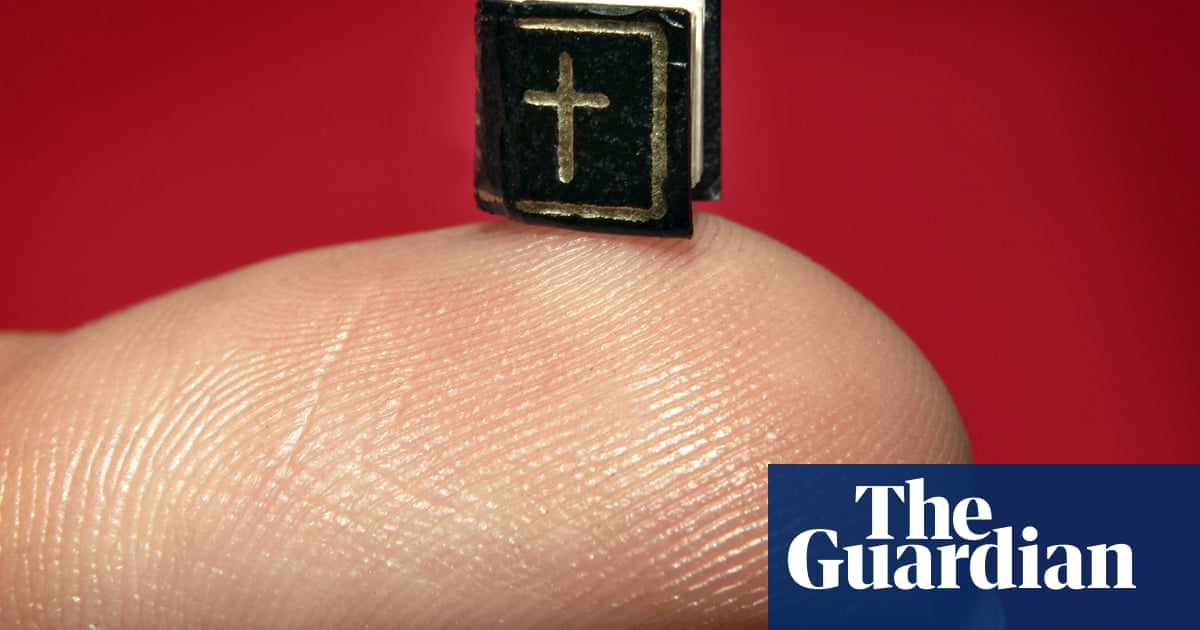 Why we are fascinated by miniature books
