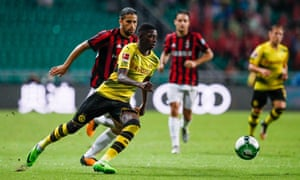 Borussia Dortmund's Ousmane Dembélé is among the players coveted by Barcelona and the asking price will increase on the back of Neymar's deal.