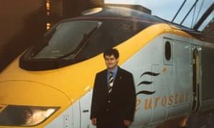 Bob Priston and Eurostar engine