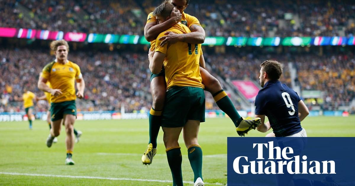 9eb5bafce39 Australia and Bernard Foley break Scotland hearts in World Cup drama | Sport  | The Guardian