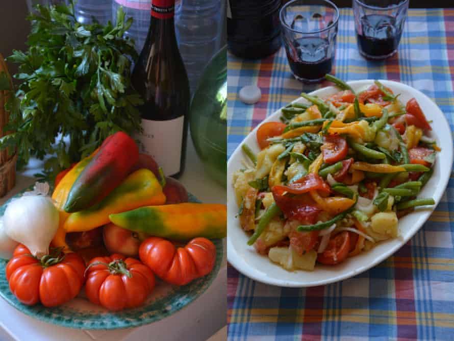 Rachel Roddy's insalata alla palermitana: a full-bodied and filling salad beloved of Palermitanos.