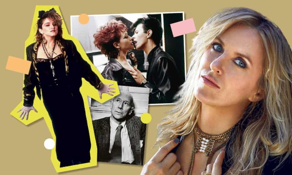 Liz Phair with Madonna, Catherine Deneuve and David Bowie in The Hunger, and EE Cummings.