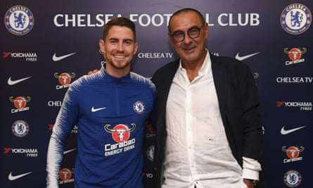 Chelsea appoint Maurizio Sarri as head coach and sign midfielder Jorginho |  Chelsea | The Guardian