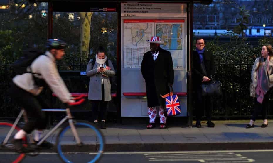 Nearly two-thirds of all trips in London are now made on foot, bicycle or public transit.