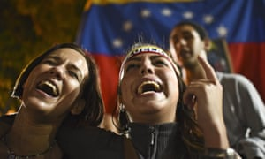 Venezuela's jubilant opposition has vowed to drag the oil-rich country out of its economic crisis after winning control of congress.