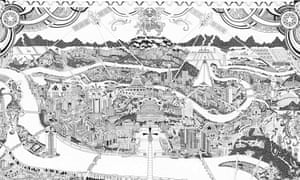 A section of Fuller's map.