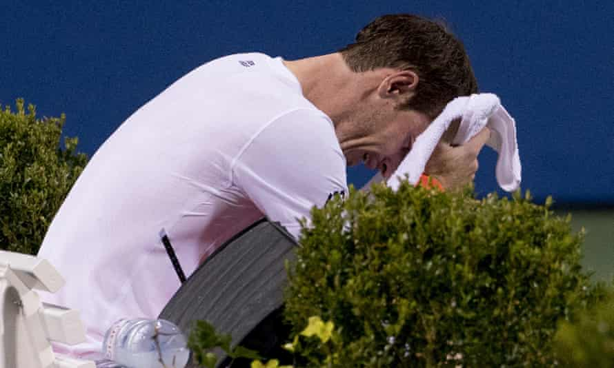 An emotional Andy Murray decided to withdraw from the Citi Open following his exhausting victory over Marius Copil.
