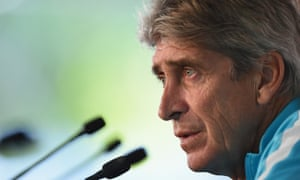 Manuel Pellegrini made no fuss about his fate and is focused on guiding Manchester City to what could be a remarkable quadruple.