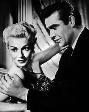With Lana Turner in Another Time, Another Place (1958).