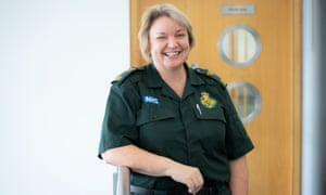 Tracey Nicholls of the East of England ambulance service NHS trust