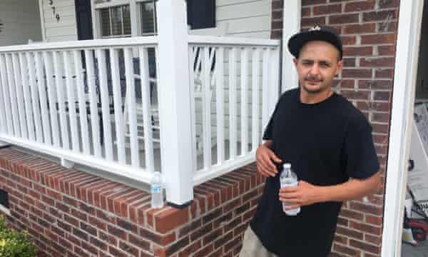 Jeremy Lewis, 29: 'Matthew was like our Katrina.'