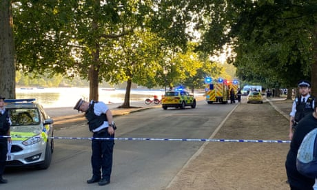 Four men arrested over suspected stabbings in London's Hyde Park