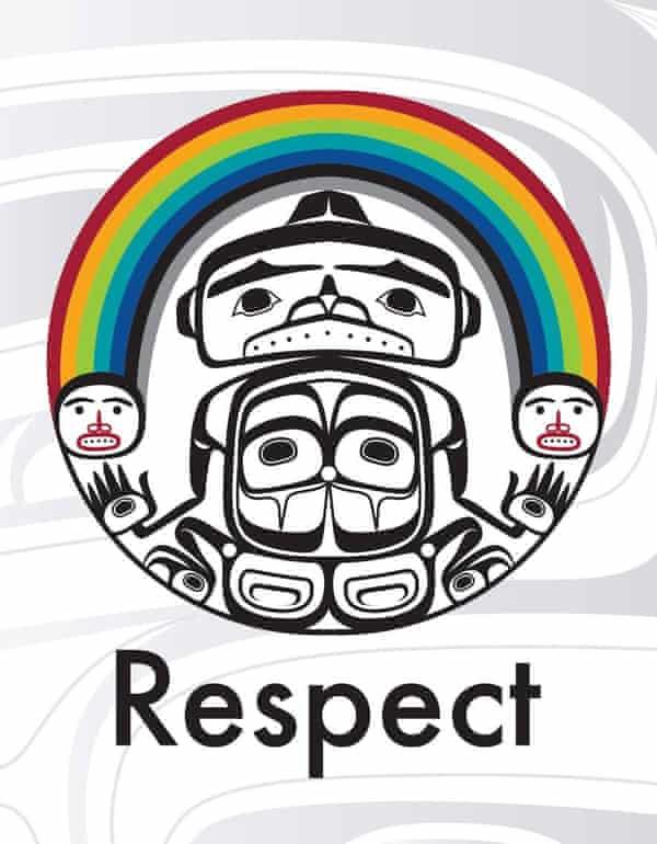 Rainbow by Canadian First Nation artist Corey Bulpitt.
