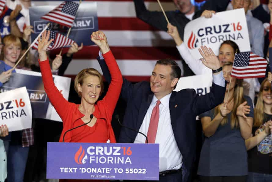 Republican candidate Ted Cruz named Carly Fiorina as his running mate this week.
