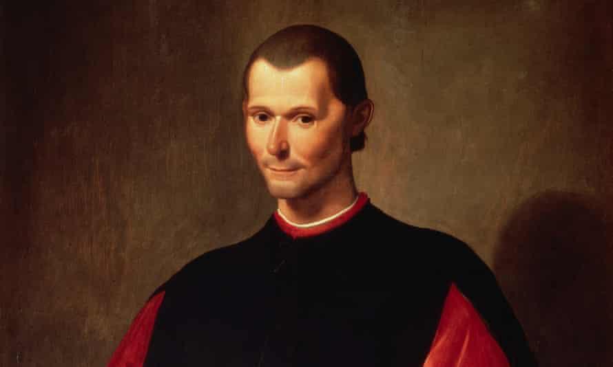 Niccolo Machiavelli by Santi di Tito ca. 1560-1600