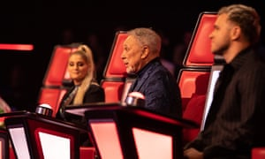 Kingmakers at the ready ... The Voice UK.