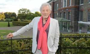Sir Ian McKellen: dinner is on him… always