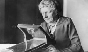 Night shifts … Harvard astronomer Annie J Cannon.