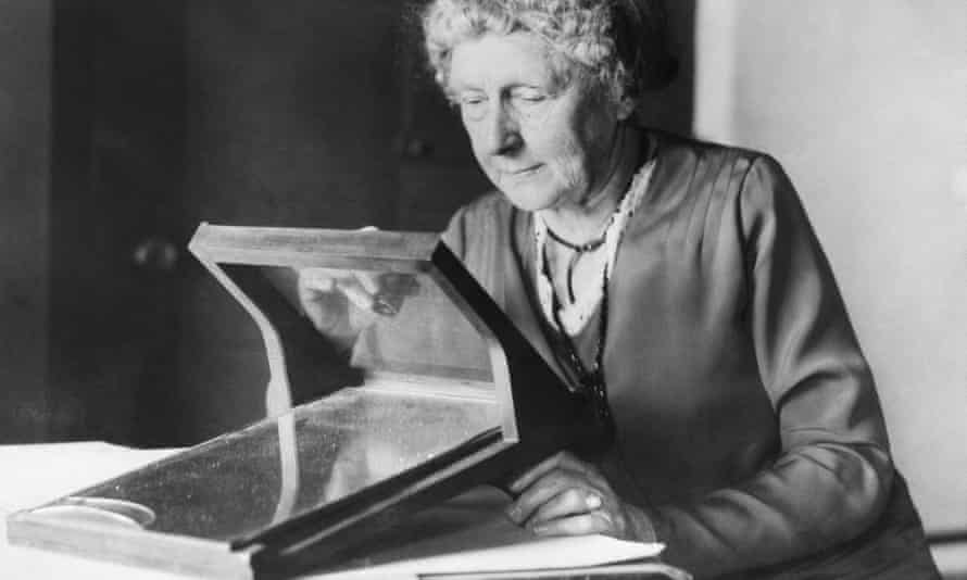 Undated picture of Harvard astronomer Annie J Cannon.