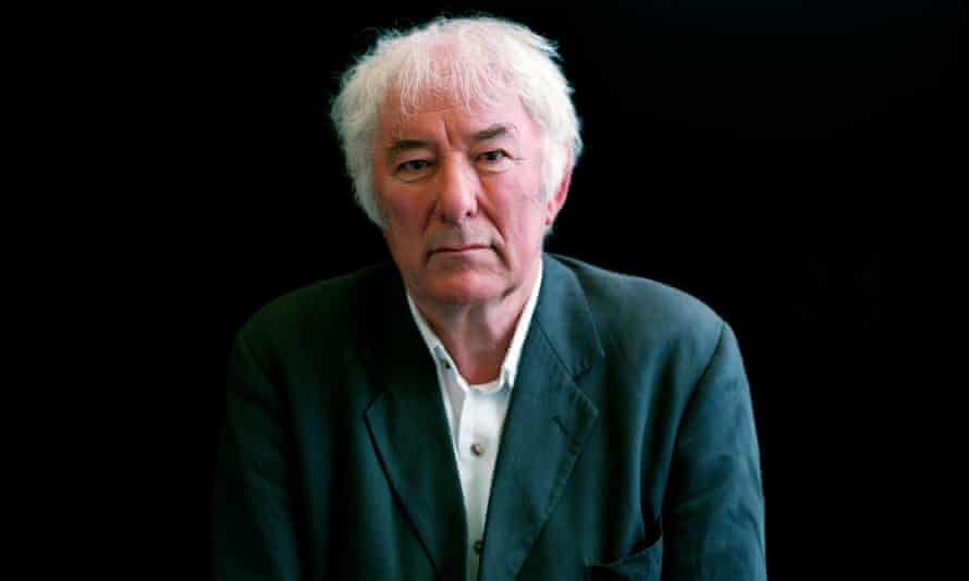 Seamus Heaney in 2002: look out to the Irish Sea and read his poetry aloud until you 'weep with joy'