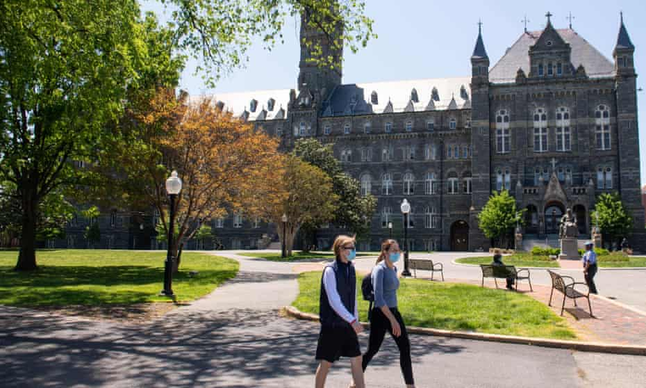 Georgetown University in Washington DC agreed to reduce tuition by 10%.
