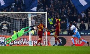 Rome native Danilo Cataldi rounded off the scoring for Lazio.