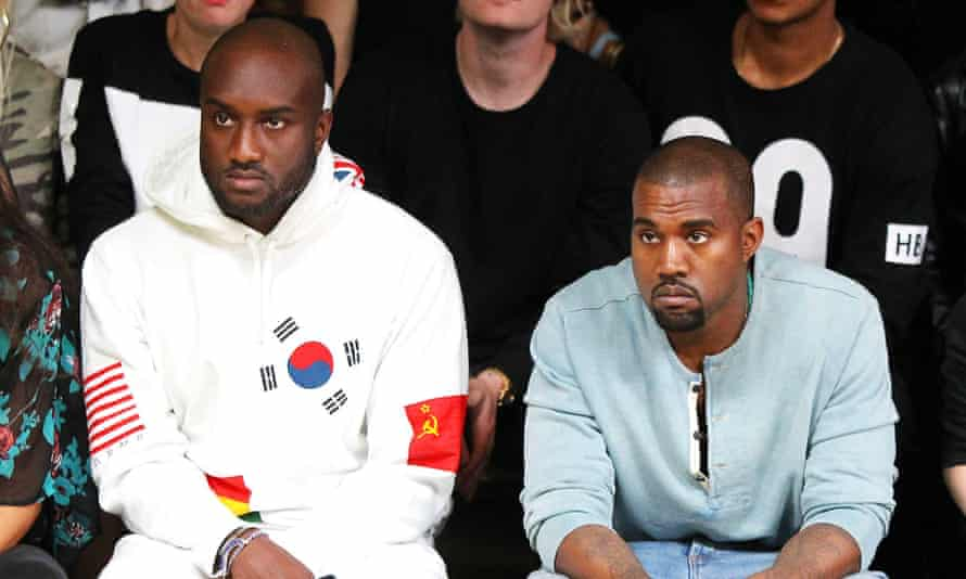 Virgil Abloh and Kanye West
