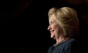Hillary Clinton<br>Democratic presidential candidate Hillary Clinton smiles while speaking at a rally at the Orpheum Theatre, Tuesday, Jan. 5, 2016, in Sioux City, Iowa. (AP Photo/Jae C. Hong)