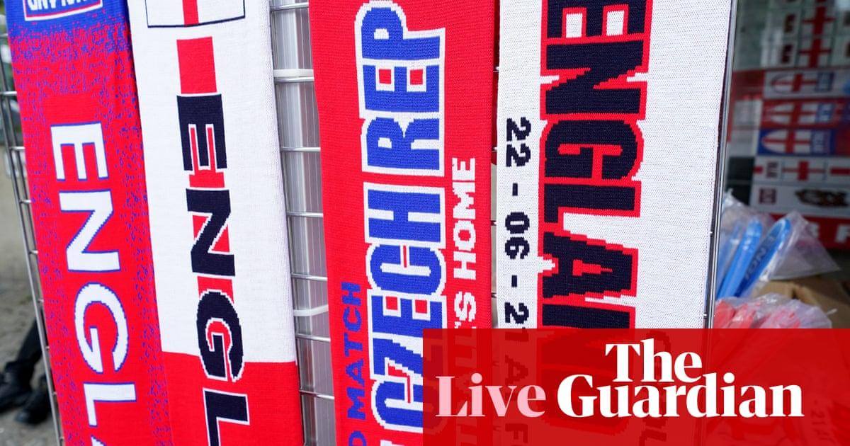 Czech Republic v England: Euro 2020 – live!