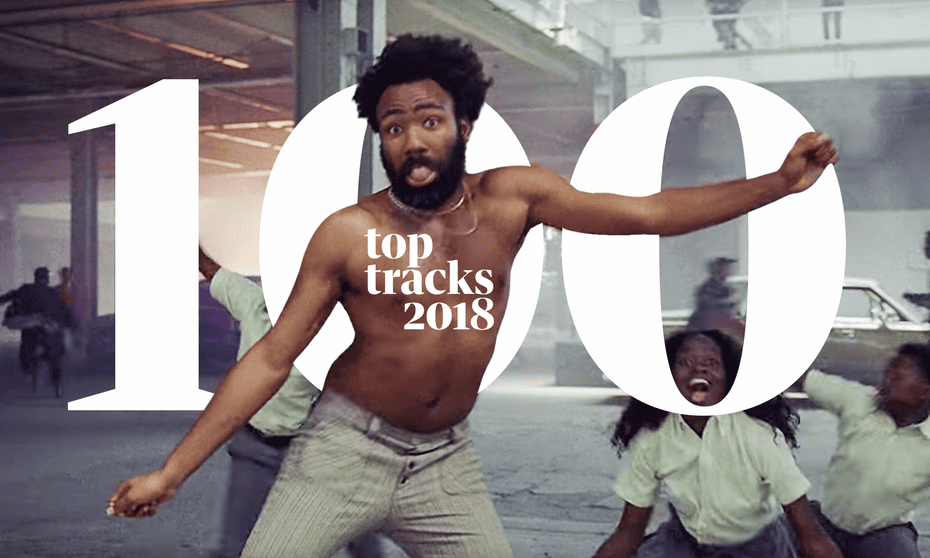 Donald Glover in his extraordinary video for This is America.